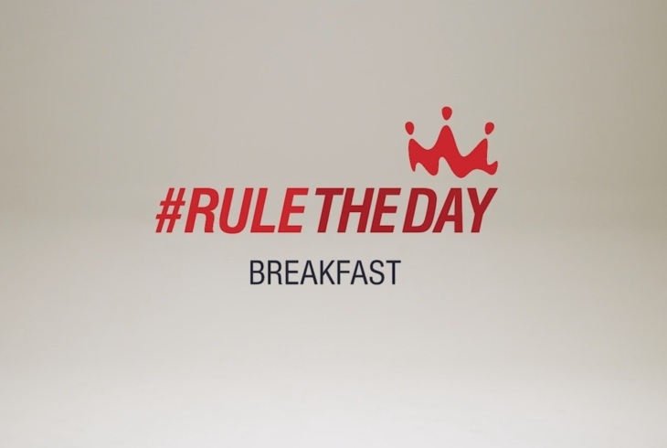 rule the day breakfast title card